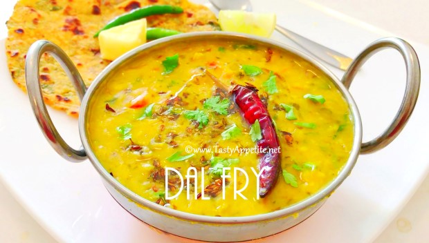 restaurant style dal fry