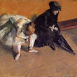 Waiting (Edgar Degas)