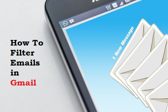 How to filter emails in Gmail