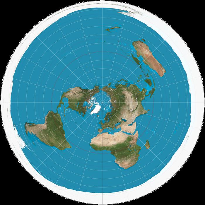 Seandainya Bumi Benar Datar?