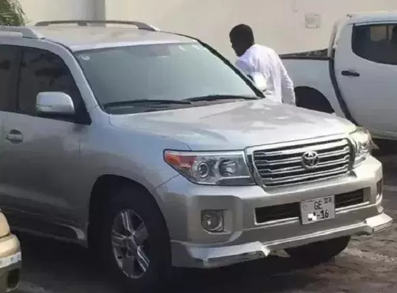john dumelo steals government vehicles