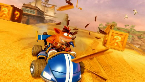 الإعلان رسميا عن الغلاف النهائي للعبة Crash Team Racing Nitro-Fueled و تغييرات كبيرة