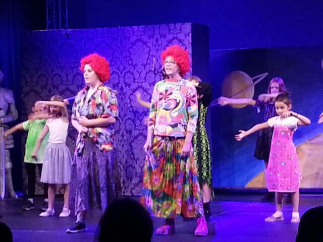 Was erlebt ein Clown im Zirkus?