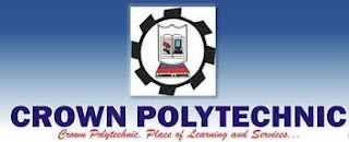 Crown Polytechnic ND & HND Admission Form (Full-Time) – 2018/2019