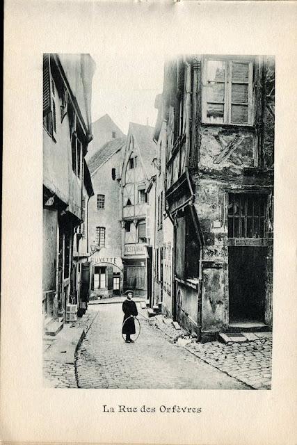 Photo de Moulins, Allier. rue des Orfèvres