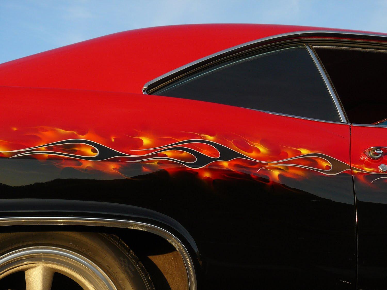 Car Flames: Crazy Horse Flame Shop: Hot Rod Flames On TV