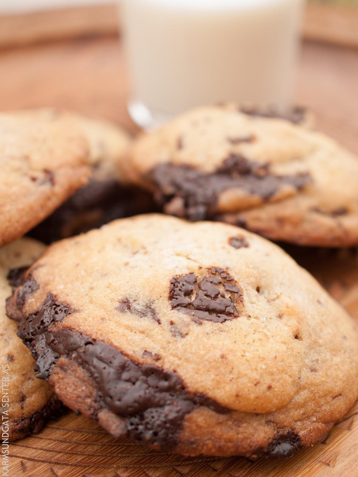 Sjokolade cookies oppskrift