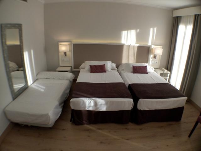 Habitación en agosto del Hotel Maestranza Ronda