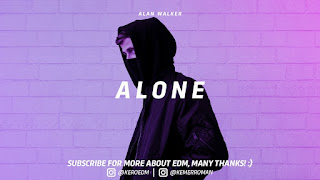 Not Angka Lagu Alone Alan Walker