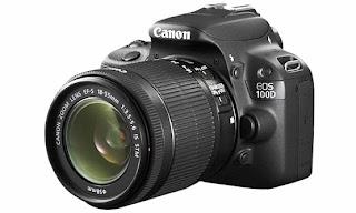Harga dan Spesifikasi Kamera Canon EOS 100D