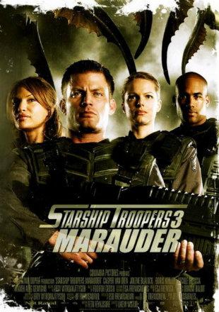 Starship Troopers 3 Marauder 2008 BRRip 350MB Hindi Dual Audio 480p Watch Online Full Movie Download bolly4u