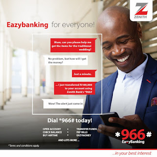 zenith easy banking services
