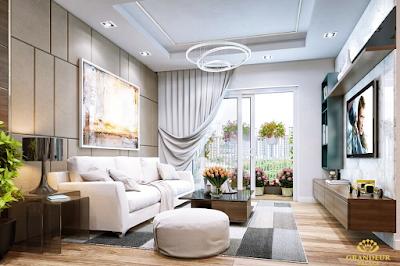 Thiết kế căn hộ hạng sang Grandeur Giảng Võ