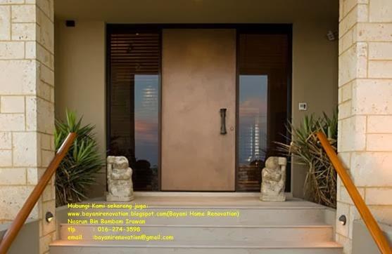Design Idea Pintu Masuk Rumah Bayani