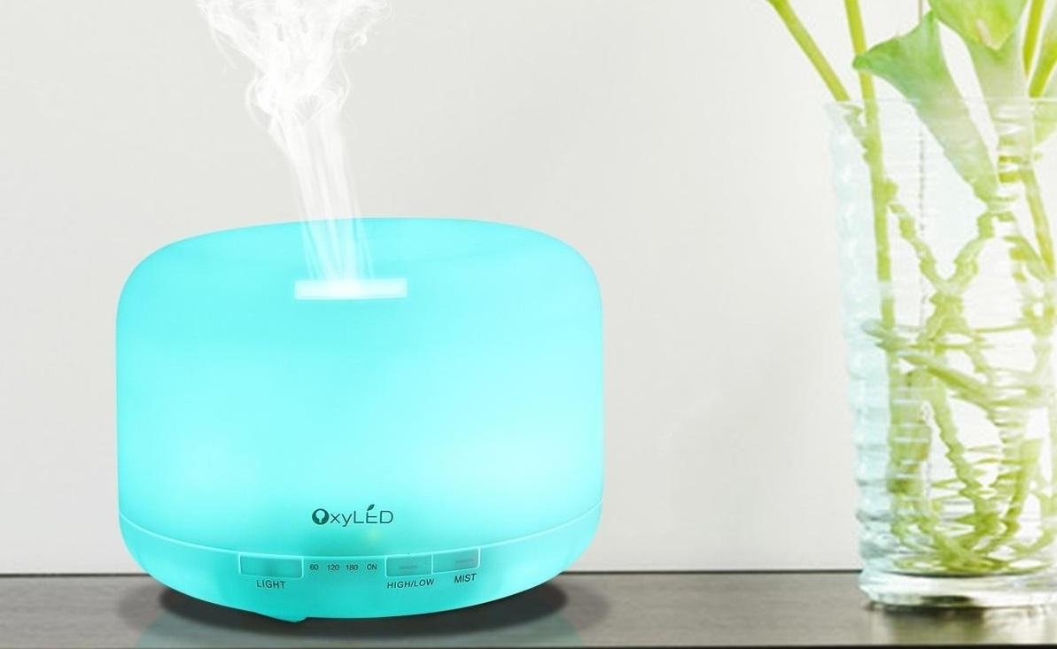 Aromaterapia Camera Da Letto recensione: oxyled umidificatore per aromaterapia da 500 ml