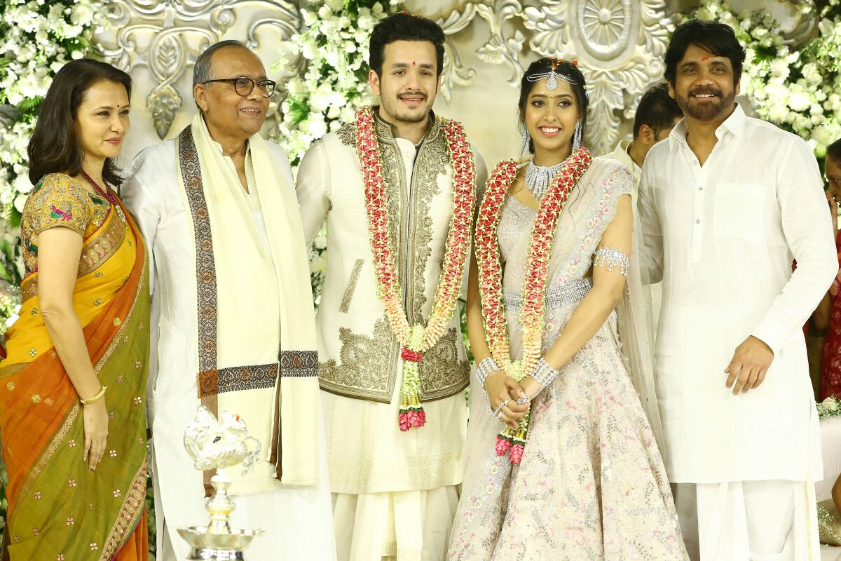 Akkineni Akhil Engagement photos-HQ-Photo-1