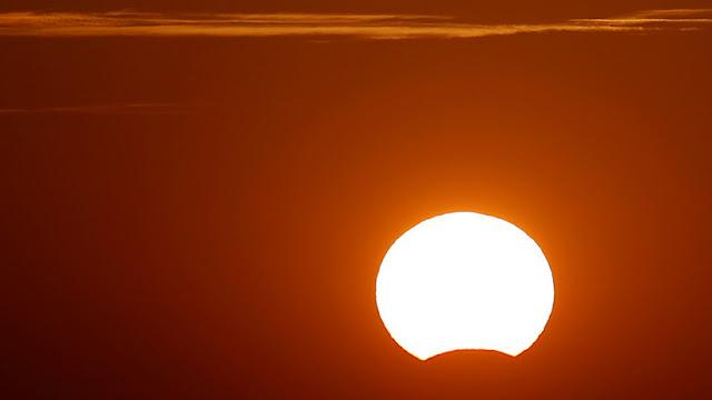 Argentina, Chile, Uruguay y Brasil verán hoy el primer eclipse solar parcial de 2018