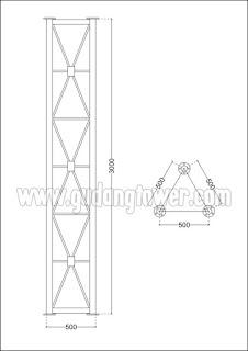 Tower GWT 50 cm