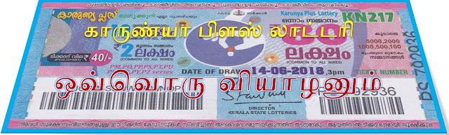 Karunya Plus lottery on all Thursdays Kerala lottery result Karunya Plus கேரள லாட்டரி காருண்யா பிளஸ்  ஒவ்வொரு வியாழக்கிழமைகளிலும்