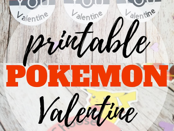 Pokemon Valentine Printable