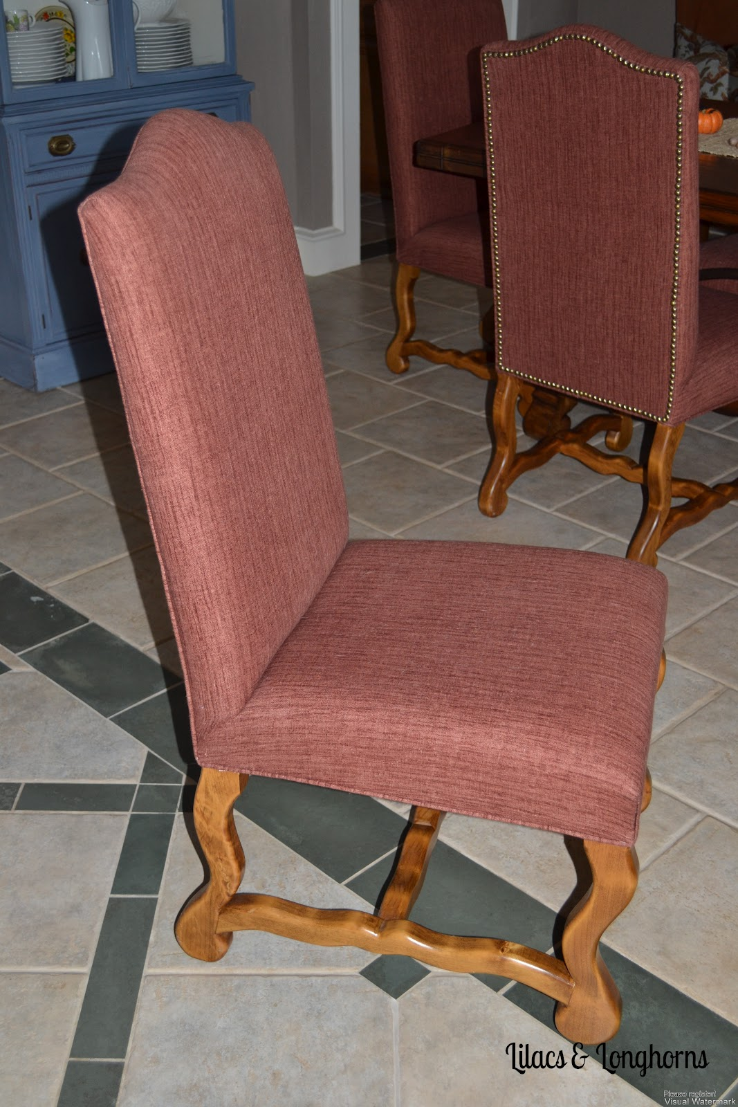 material to recover dining room chairs civil war camp chair tips for re upholstering lilacs and