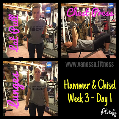 Hammer and Chisel review, Beachbody On Demand, weightless tips, vanessadotfitness, vanessa.fitness, autumn calabrese, 21 Day Fix,