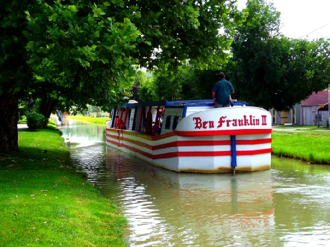 Whitewater Canal - Ben Franklin Canal Boat