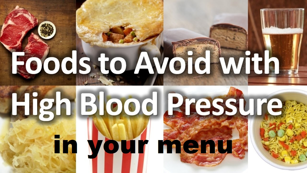 can diet affect blood pressure