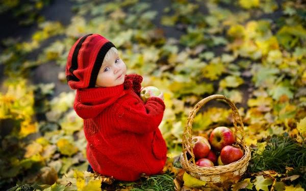 تصوير الأطفال في الطبيعية
