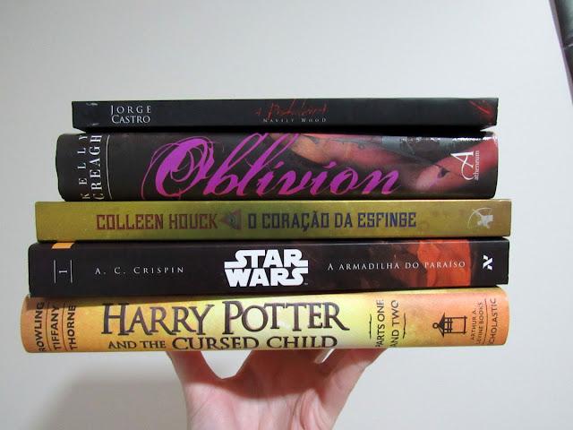 Livros que preciso ler até o fim do ano