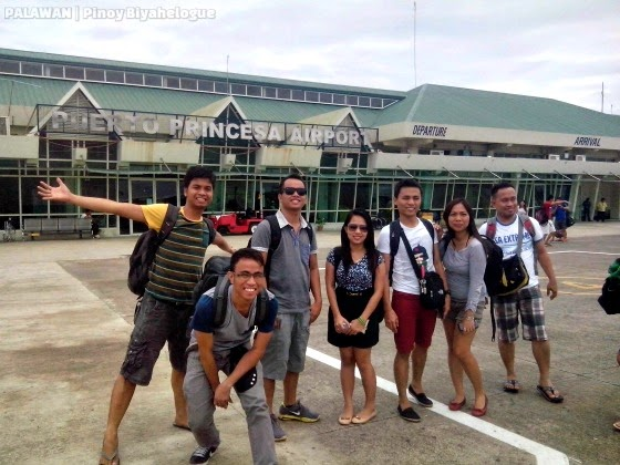 At Puerto Princesa Airport