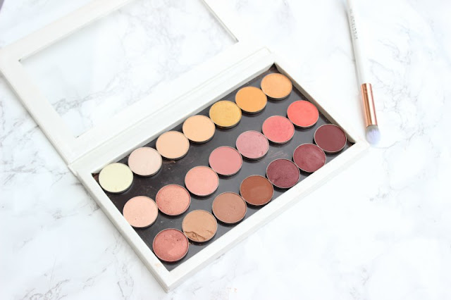 Make Up Geek Warm Toned Eyeshadows