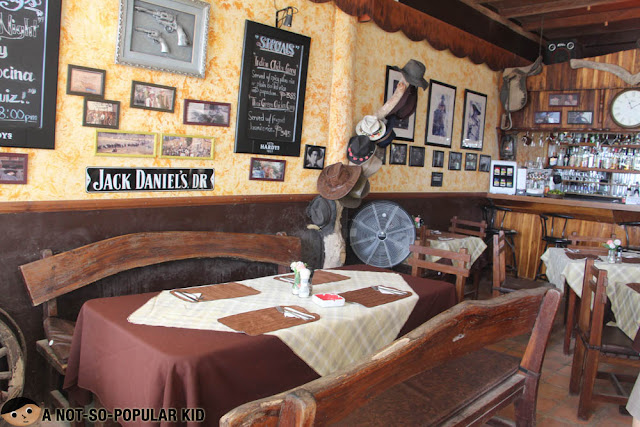 Interior of Cowboy Cocina in Boracay