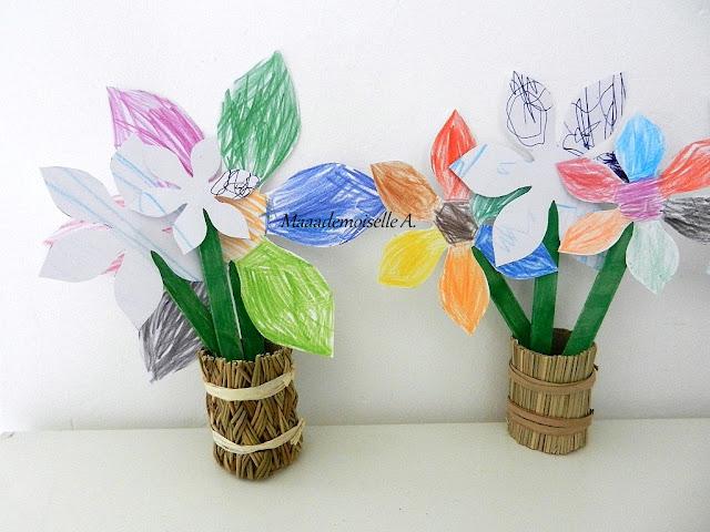 || Activité : Fleurs en papier