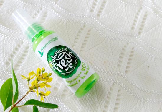 Aromacology Botanical Fresh mouthwash and spray