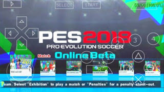 Game PES Army 2018 ISO Compress PPSSPP Mod Update Patch Full Transfer Terbaru