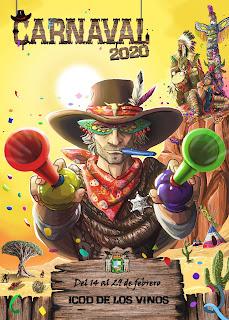 Icod de los Vinos - Carnaval 2020 - Jonás Emanuel Hernández Plasencia