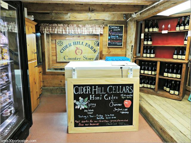 Supermercado de la Cider Hill Farm: Bebidas y Vinos
