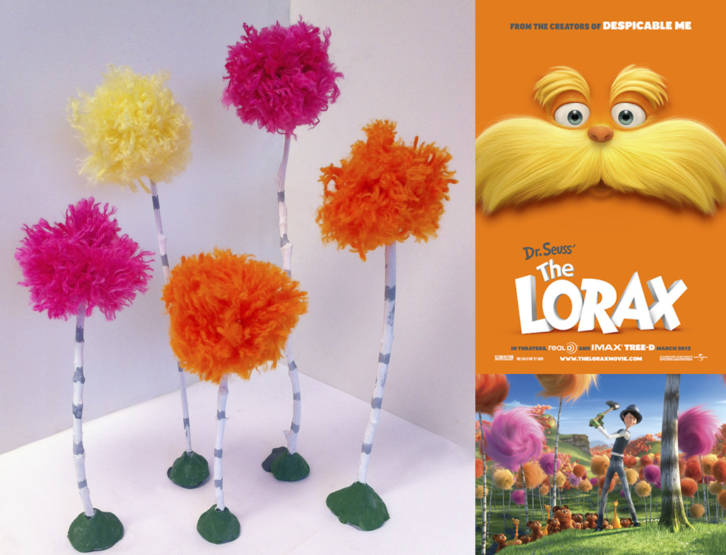 Preschool Crafts For Kids Earth Day Truffula Trees Craft