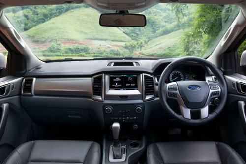 Interior All-new Ford Everest 2015