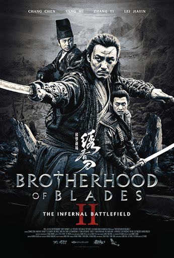 Poster Of Brotherhood of Blades 2017 In Hindi Bluray 720P Free Download