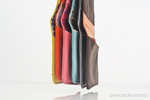 portefeuille de couleur