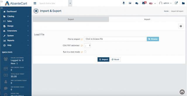 Data import/export, Web Hosting, Hosting Review