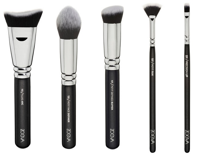 ZOEVA graphic brow new brushes