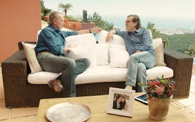 Pepe Navarro con Bertin Osborne en Mi casa es la tuya del 26 de abril
