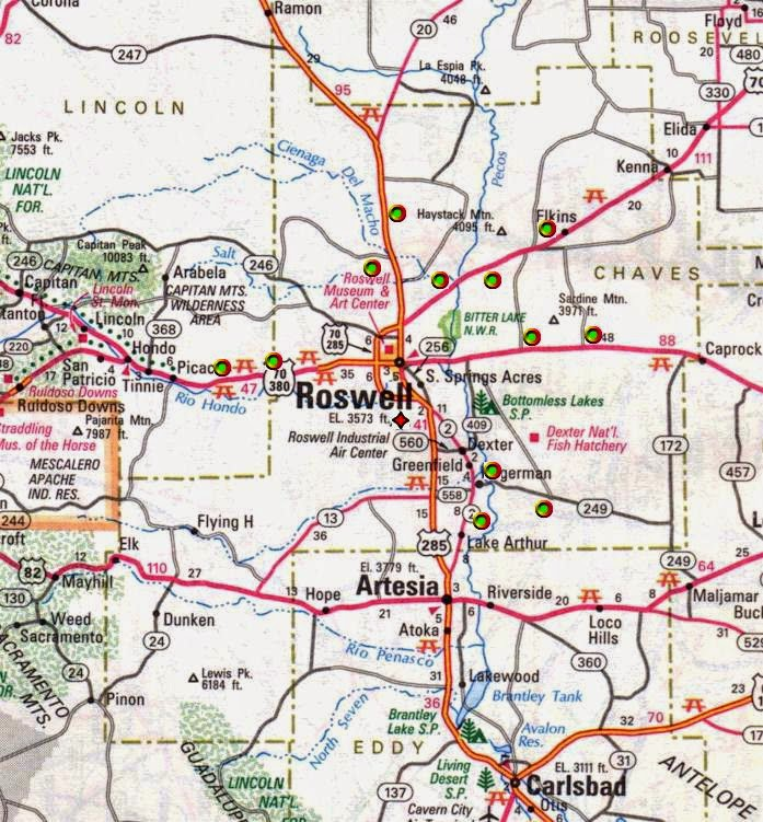 Historical Markers of New Mexico: Atlas Missile Silos