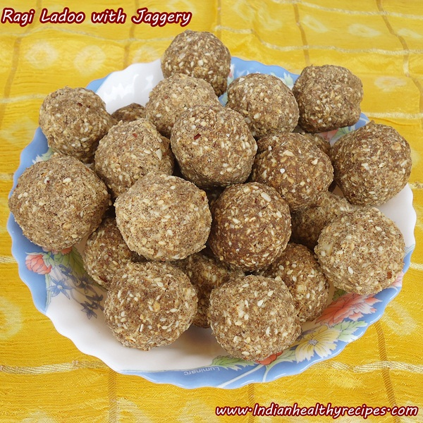 Ragi Laddu Recipe Using Jaggery (finger Millet Flour Balls