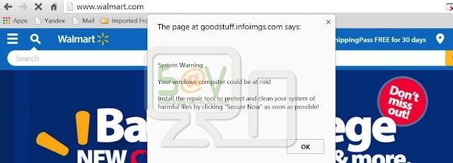 Goodstuf.infoimgs.com pop-ups
