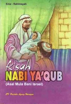 "KISAH NABI YA'QUB A.S.     Nabi Ya'qub as (sekitar 1837-1690 SM) merupakan cucu dari Nabi Ibrahim 'alaihis salam, salah seorang nabi yang ditugaskan berdakwah kepada Bani Israil di Syam. Ia diangkat menjadi nabi pada tahun 1750 SM, Dari beberapa orang istrinya Ya'qub memiliki dua belas putra dan dua orang putri. Kedua belas putranya yakni Rubin, Syam'un, Lawway, Yahuda, Zabulaon, Yasakir, Dann, Gad, Asyar, Naftali, Yusuf, dan Bunyamin. Sedangkan kedua putrinya adalah Dinah dan Yathirah kembaran Benyamin.  Kelahiran Nabi Ya'qub 'alaihis salam   Kelahiran Ya'qub telah disampaikan oleh para tamu Nabi Ibrahim 'alaihis salam yang terdiri dari beberapa malaikat dari istrinya Sarah. Allah Subhaanahu wa Ta'ala berfirman, ""Maka Kami sampaikan kepadanya berita gembira tentang (kelahiran) Ishaqdan dari Ishaq (akan lahir puteranya) Ya'qub. "" (QS. Huud: 71)  Kisah Ya'qub dengan saudaranya  Nabi Ya'qub adalah putera dari Nabi Ishaq bin Ibrahim, sedang ibunya adalah anak saudara dari Nabi Ibrahim, bernama Rifqah binti A'zar. Ishaq mempunyai anak kembar, satu Ya'qub dan satu lagi bernama Ishu. Antara kedua saudara kembar ini tidak terdapat suasana rukun dan damai serta tidak ada menaruh kasih-sayang satu terhadap yang lain bahkan Ishu mendendam dengki dan iri hati terhadap Ya'qub saudara kembarnya"