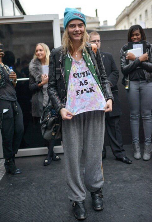 Cara Delevingne Cute as Fuck T-shirt